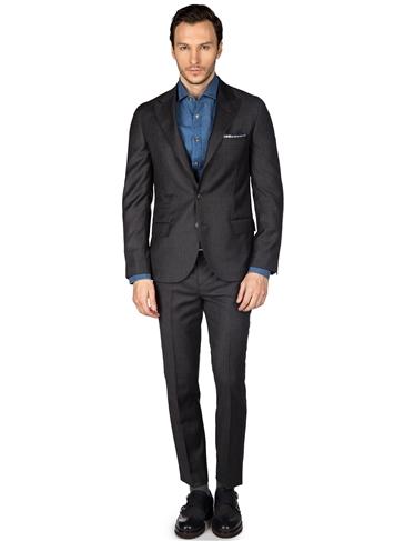 Брендовый мужской классический костюм