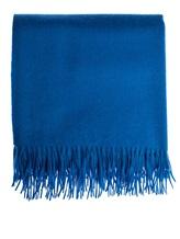Плед Кашемир и Шелк 1516NYPLAID 100% кашемир Синий Италия изображение 1