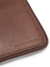 Чехол Brunello Cucinelli 190 100% кожа Коричневый Италия изображение 1