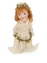 Кукла Marigio 617-648 100% фарфор Натуральный Италия изображение 0