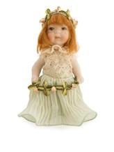 Кукла Marigio 617-648 100% фарфор Бледно-зеленый Италия изображение 1