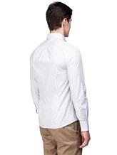Рубашка Brunello Cucinelli 1716 100% хлопок Бледно-сиреневый Италия изображение 3
