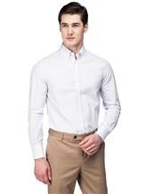 Рубашка Brunello Cucinelli 1716 100% хлопок Бледно-сиреневый Италия изображение 0