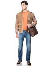 Кардиган Missoni 532697 60% кожа, 32% хлопок, 8% шерсть Бежевый Италия изображение 1