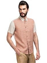 Рубашка Missoni 532071 100% лён Терракотовый Албания изображение 0