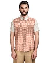 Рубашка Missoni 532071 100% лён Терракотовый Албания изображение 1