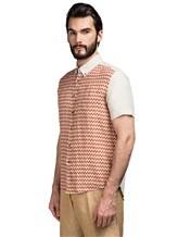Рубашка Missoni 532071 100% лён Терракотовый Албания изображение 2