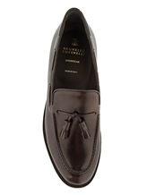 Ботинки Brunello Cucinelli 995 100% кожа Темно-коричневый Италия изображение 4