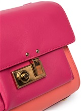Сумка Agnona PB901X 100% кожа Розовый Италия изображение 5