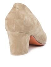 Туфли Santoni WDAC55610 100% кожа Серо-бежевый Италия изображение 9