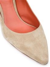Туфли Santoni WDAC55610 100% кожа Серо-бежевый Италия изображение 11