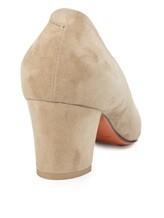 Туфли Santoni WDAC55610 100% кожа Серо-бежевый Италия изображение 3