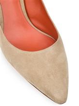 Туфли Santoni WDAC55610 100% кожа Серо-бежевый Италия изображение 5