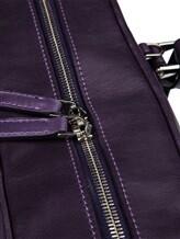Сумка ISAIA APH028 100% кожа Фиолетовый Италия изображение 7