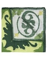 Платок L.B.M. 1911 6575 100% лён Зеленый Италия изображение 1