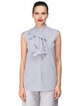 Рубашка ANTONELLI AGRIGENT0T2337 100%хлопок Бело-синий Италия изображение 1