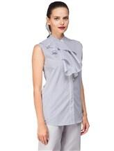 Рубашка ANTONELLI AGRIGENT0T2337 100%хлопок Бело-синий Италия изображение 2