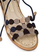 Босоножки Paloma Barcelo ANFL 100% кожа Темно-синий Испания изображение 5