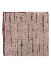 Платок Brunello Cucinelli 0091 73% лён, 27% хлопок Серо-бордовый Италия изображение 0