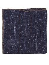Платок Brunello Cucinelli 0091 73% лён, 27% хлопок Синий Италия изображение 0