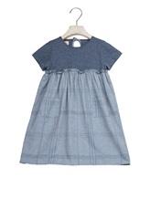 Платье Olive 1059 90% хлопок, 10% эластан Серо-голубой Италия изображение 0