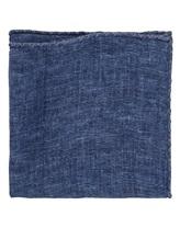 Платок Brunello Cucinelli 0091 100% лён Синий Италия изображение 0