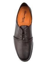 Ботинки Santoni MGMG15530 100% кожа Темно-коричневый Италия изображение 4