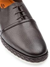 Ботинки Santoni MGMG15530 100% кожа Темно-коричневый Италия изображение 5