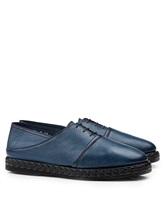 Ботинки Santoni MGMG15530 100% кожа Темно-синий Италия изображение 0