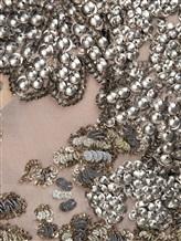 Блузка FAY NPWB434582E 100% шёлк Серо-бежевый Италия изображение 4
