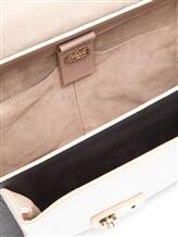 Сумка Agnona PB902X 100% кожа Бежево-черный Италия изображение 5