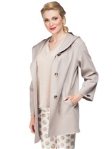 Пальто Peserico S20393 50% шерсть, 50% кашемир Какао Италия изображение 0