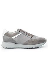 Кроссовки Santoni MBVC20364 100% кожа Серый Италия изображение 1