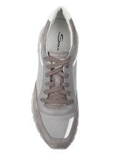 Кроссовки Santoni MBVC20364 100% кожа Серый Италия изображение 4