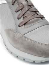 Кроссовки Santoni MBVC20364 100% кожа Серый Италия изображение 5