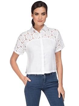 Рубашка 120% Lino L0W1402