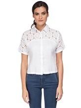 Рубашка 120% Lino L0W1402 100% лён Белый Болгария изображение 1