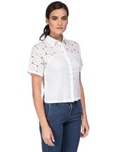 Рубашка 120% Lino L0W1402 100% лён Белый Болгария изображение 2