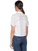 Рубашка 120% Lino L0W1402 100% лён Белый Болгария изображение 3