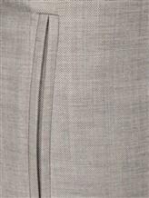 Брюки Les Copains 0L3029 60% шерсть, 37% вискоза, 3% эластан Светло-серый Румыния изображение 4