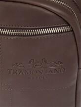 Рюкзак Tramontano 1285 100% кожа Темно-коричневый Италия изображение 5