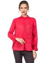 Блуза Tsumori Chisato TC77FJ023 100%хлопок Красный Индия изображение 0