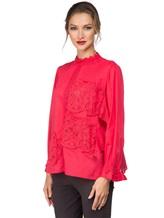 Блуза Tsumori Chisato TC77FJ023 100%хлопок Красный Индия изображение 2