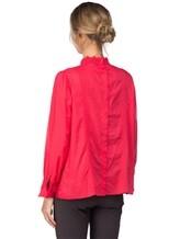 Блуза Tsumori Chisato TC77FJ023 100%хлопок Красный Индия изображение 3