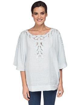 Блузка 120% Lino L0W1455