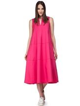 Платье Piazza Sempione A596 94% хлопок 6% эластан Розовый Италия изображение 0