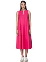 Платье Piazza Sempione A596 94% хлопок 6% эластан Розовый Италия изображение 1