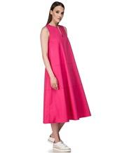 Платье Piazza Sempione A596 94% хлопок 6% эластан Розовый Италия изображение 2
