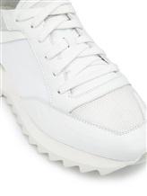 Кроссовки Santoni WBVC60176 100% кожа Белый Италия изображение 5