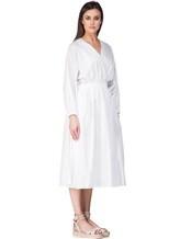 Платье Agnona R9590X 100%хлопок Белый Италия изображение 2